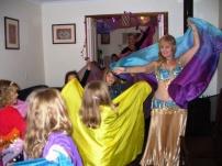 Party veil dancing