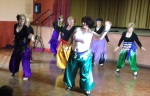 Bridgewater dancers at hafla