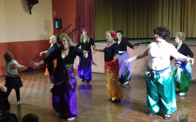 Bridgewater dancers at hafla