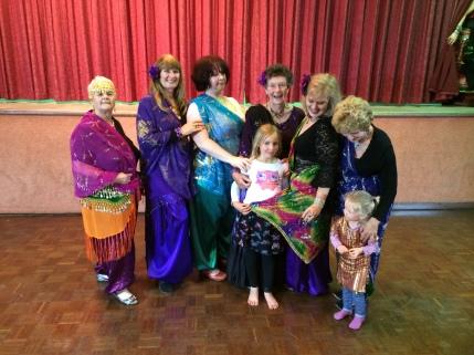 Bridgewater dancers & friends at hafla