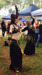 Belly Dance Amethyst's Velvet Caravan at Fullarton Markets