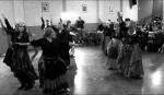 Bridgewater class performing Habibi tribal fusion at the winter hafla